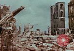 Image of demolished buildings Berlin Germany, 1945, second 9 stock footage video 65675055503