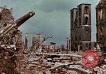 Image of demolished buildings Berlin Germany, 1945, second 10 stock footage video 65675055503