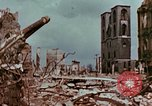 Image of demolished buildings Berlin Germany, 1945, second 11 stock footage video 65675055503
