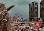 Image of demolished buildings Berlin Germany, 1945, second 12 stock footage video 65675055503