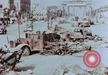Image of wrecked burnt vehicles Berlin Germany, 1945, second 2 stock footage video 65675055505