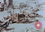 Image of wrecked burnt vehicles Berlin Germany, 1945, second 3 stock footage video 65675055505