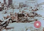 Image of wrecked burnt vehicles Berlin Germany, 1945, second 4 stock footage video 65675055505
