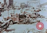 Image of wrecked burnt vehicles Berlin Germany, 1945, second 5 stock footage video 65675055505