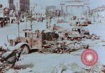 Image of wrecked burnt vehicles Berlin Germany, 1945, second 6 stock footage video 65675055505