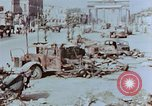 Image of wrecked burnt vehicles Berlin Germany, 1945, second 7 stock footage video 65675055505