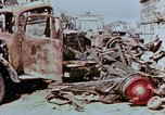 Image of wrecked burnt vehicles Berlin Germany, 1945, second 9 stock footage video 65675055505