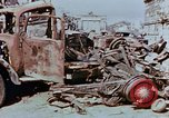 Image of wrecked burnt vehicles Berlin Germany, 1945, second 10 stock footage video 65675055505