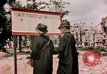 Image of demolished buildings Berlin Germany, 1945, second 1 stock footage video 65675055519