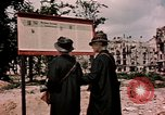 Image of demolished buildings Berlin Germany, 1945, second 3 stock footage video 65675055519