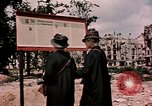 Image of demolished buildings Berlin Germany, 1945, second 4 stock footage video 65675055519