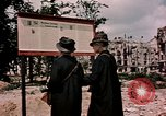 Image of demolished buildings Berlin Germany, 1945, second 7 stock footage video 65675055519