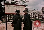 Image of demolished buildings Berlin Germany, 1945, second 9 stock footage video 65675055519