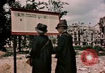 Image of demolished buildings Berlin Germany, 1945, second 10 stock footage video 65675055519
