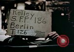 Image of sign board Berlin Germany, 1945, second 2 stock footage video 65675055522