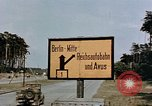 Image of sign board Berlin Germany, 1945, second 4 stock footage video 65675055522