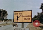 Image of sign board Berlin Germany, 1945, second 5 stock footage video 65675055522