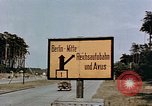 Image of sign board Berlin Germany, 1945, second 6 stock footage video 65675055522
