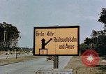 Image of sign board Berlin Germany, 1945, second 7 stock footage video 65675055522