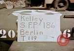 Image of bomb damaged railway station Berlin Germany, 1945, second 1 stock footage video 65675055526