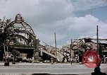 Image of bomb damaged railway station Berlin Germany, 1945, second 3 stock footage video 65675055526