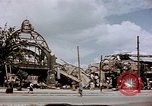 Image of bomb damaged railway station Berlin Germany, 1945, second 10 stock footage video 65675055526