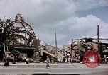 Image of bomb damaged railway station Berlin Germany, 1945, second 11 stock footage video 65675055526