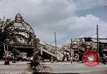 Image of bomb damaged railway station Berlin Germany, 1945, second 12 stock footage video 65675055526