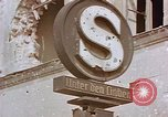 Image of street sign Unter Den Linden Berlin Germany, 1945, second 3 stock footage video 65675055529