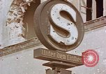 Image of street sign Unter Den Linden Berlin Germany, 1945, second 4 stock footage video 65675055529