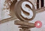 Image of street sign Unter Den Linden Berlin Germany, 1945, second 5 stock footage video 65675055529