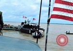 Image of Patrol Boat River crewmen Vietnam Binh Thuy Air Base, 1967, second 2 stock footage video 65675055547