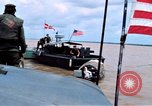 Image of Patrol Boat River crewmen Vietnam Binh Thuy Air Base, 1967, second 4 stock footage video 65675055547