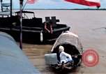 Image of Patrol Boat River crewmen Vietnam Binh Thuy Air Base, 1967, second 8 stock footage video 65675055547