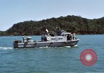 Image of USS Esteem Minesweeper Ocean-438 An Thoi Phu Quoc Vietnam, 1966, second 10 stock footage video 65675055560