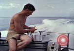 Image of crew men aboard Swift boat An Thoi Phu Quoc Vietnam, 1966, second 9 stock footage video 65675055562
