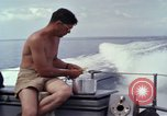 Image of crew men aboard Swift boat An Thoi Phu Quoc Vietnam, 1966, second 12 stock footage video 65675055562