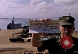 Image of offloading operations Da Nang Vietnam, 1966, second 4 stock footage video 65675055579