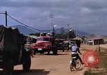 Image of ttraffic congestion Da Nang Vietnam, 1966, second 8 stock footage video 65675055580