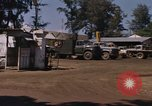 Image of motor pool area Da Nang Vietnam, 1966, second 5 stock footage video 65675055582