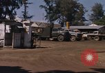 Image of motor pool area Da Nang Vietnam, 1966, second 6 stock footage video 65675055582