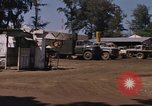 Image of motor pool area Da Nang Vietnam, 1966, second 8 stock footage video 65675055582