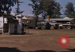 Image of motor pool area Da Nang Vietnam, 1966, second 10 stock footage video 65675055582