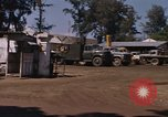 Image of motor pool area Da Nang Vietnam, 1966, second 11 stock footage video 65675055582