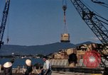 Image of Commercial Pier Da Nang Vietnam, 1966, second 6 stock footage video 65675055586