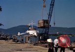 Image of Commercial Pier Da Nang Vietnam, 1966, second 12 stock footage video 65675055586