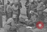 Image of wounded Germans Avranches France, 1944, second 5 stock footage video 65675055589