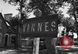 Image of military police Vannes France, 1944, second 1 stock footage video 65675055590