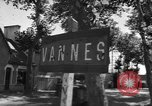 Image of military police Vannes France, 1944, second 8 stock footage video 65675055590