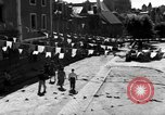 Image of French civilians Vannes France, 1944, second 8 stock footage video 65675055591